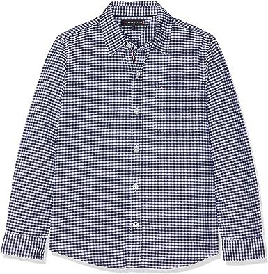 Tommy Hilfiger Essential Oxford Gingham Shirt L/S Blusa para Niños