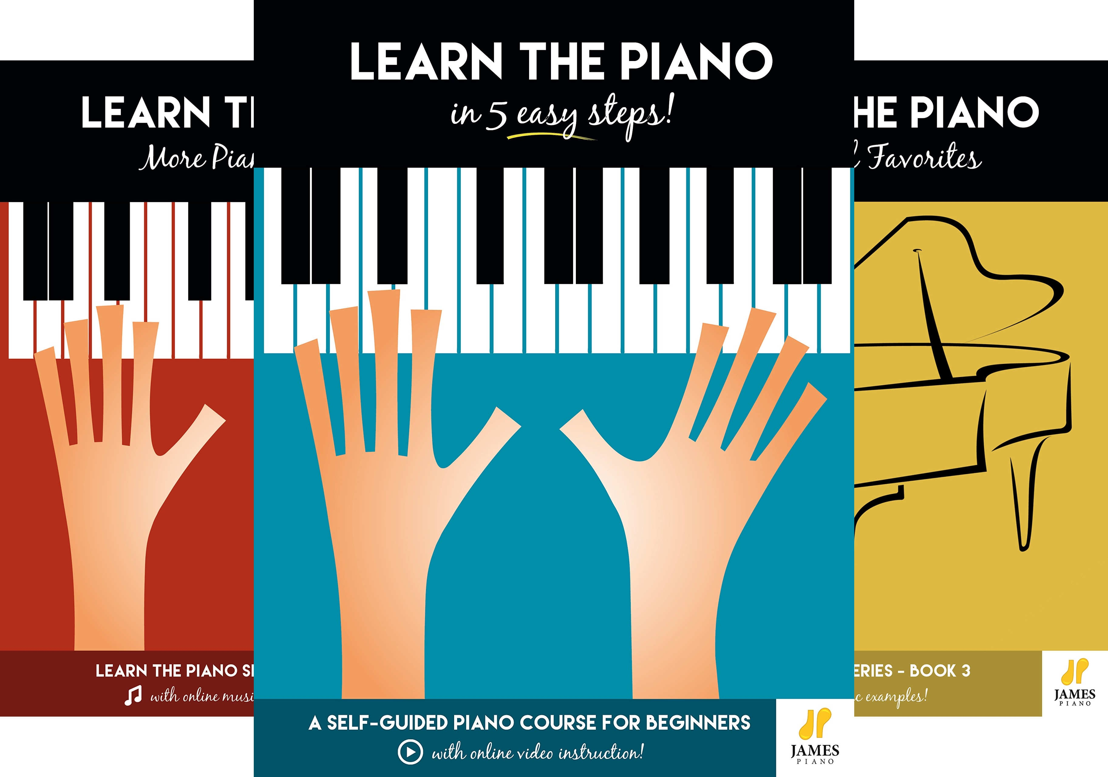 Learn the Piano (5 Book Series)