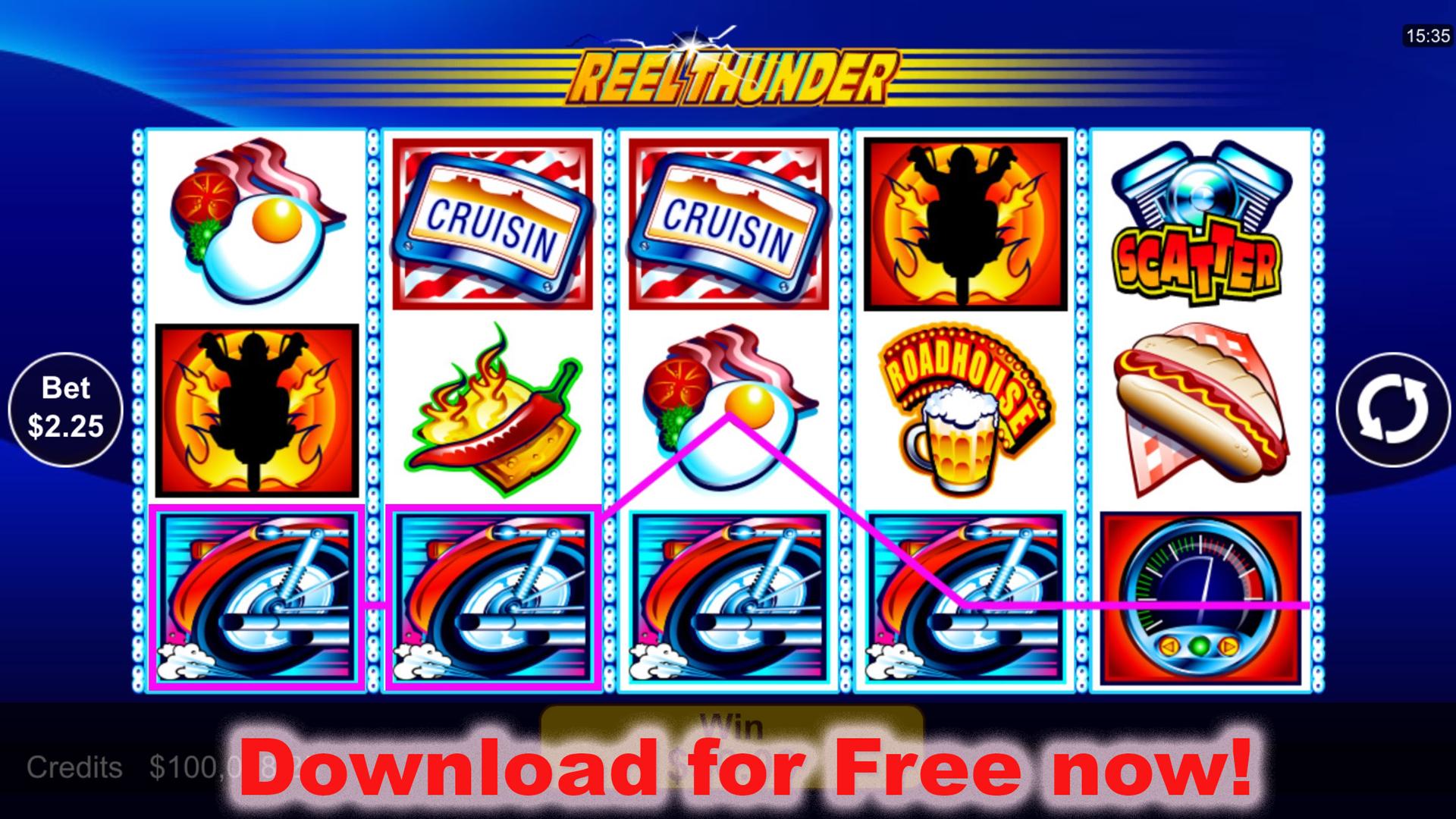 Dakota thunder free slots