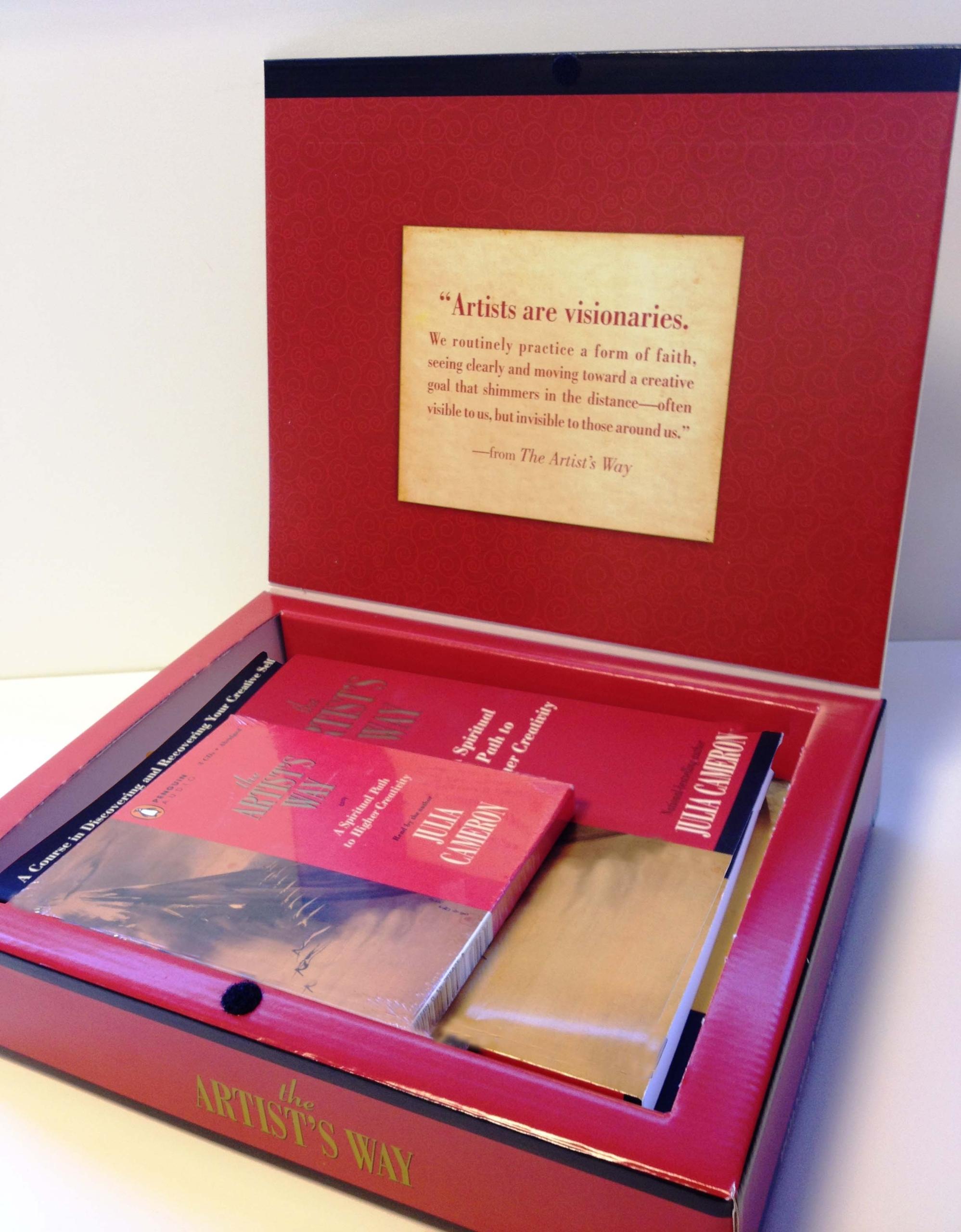 The Artist's Way: Creative Kingdom Collection: Julia Cameron:  0619580059959: Amazon: Books
