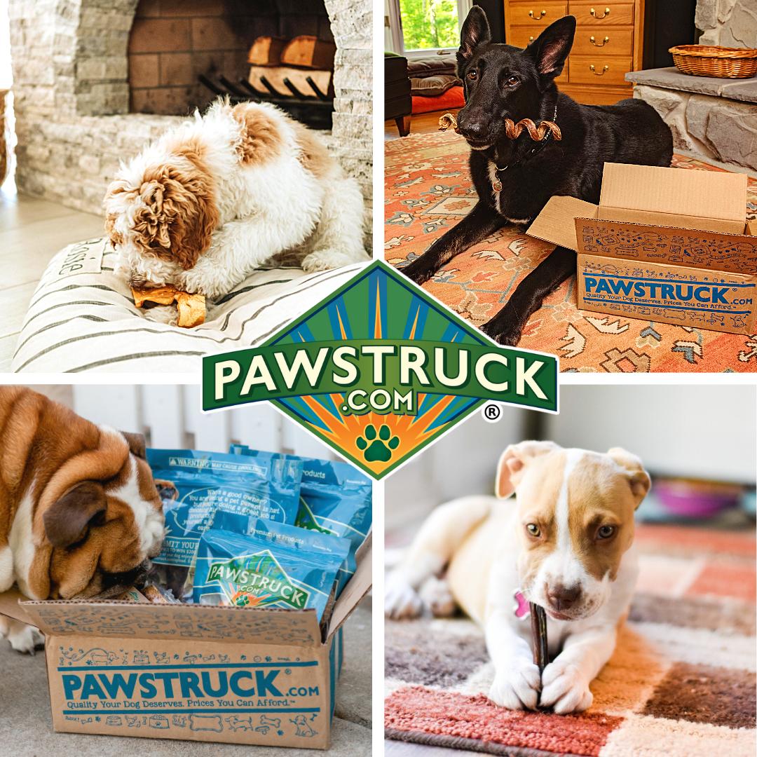 Pawstruck Natural Dog Chew Box: Small Dog