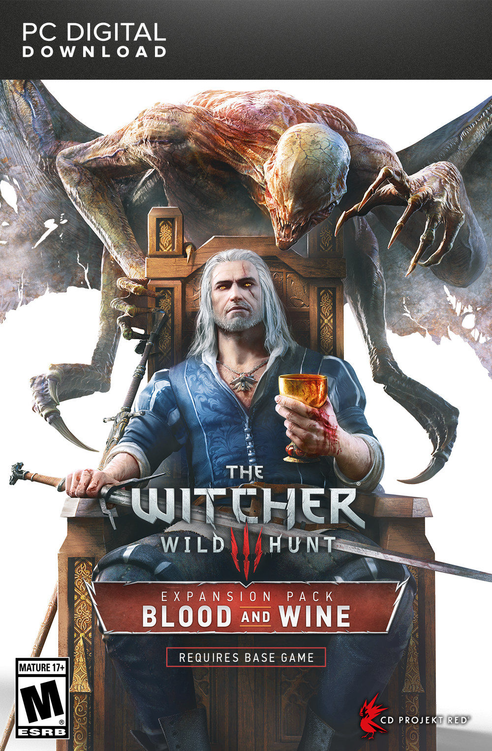 The witcher 3: wild hunt blood and wine [pc code]: amazon. Co. Uk.