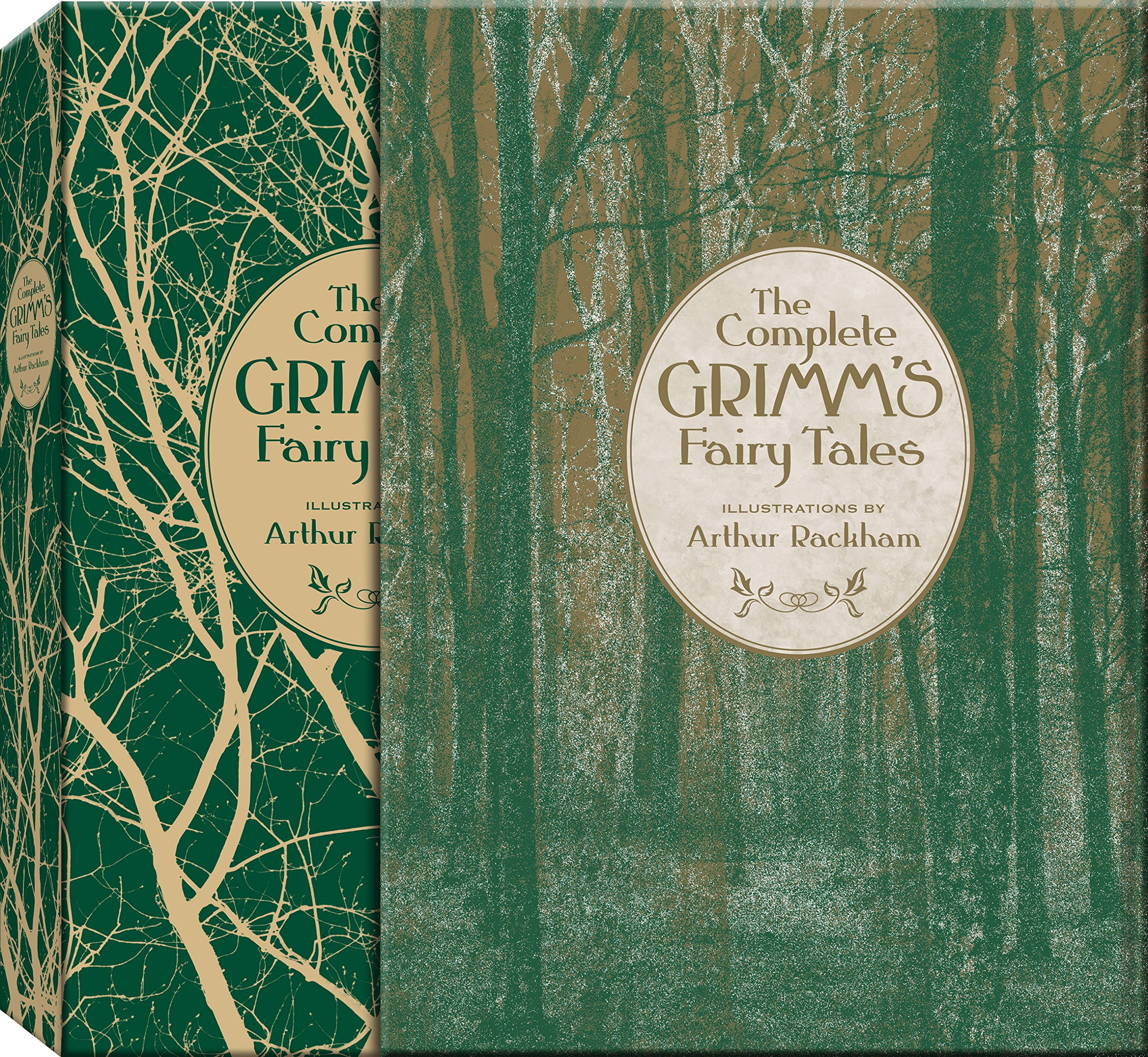 The Complete Grimm's Fairy Tales (Knickerbocker Classics): Jacob Grimm,  Wilhelm Grimm: 9781937994310: Amazon.com: Books