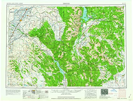 Amazon Com Yellowmaps Driggs Id Topo Map 1 250000 Scale 1 X 2