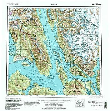 Amazon.com : YellowMaps Juneau AK topo map, 1:250000 Scale ... on vancouver map, north pole, atlanta georgia map, boise idaho map, juneau ak, juneau international airport, mendenhall glacier, denver colorado map, boston massachusetts map, san francisco map, mount mckinley, alaska state capitol, chicago illinois map, phoenix arizona map, juneau glacier, juneau northern lights, little rock arkansas map, juneau fishing,