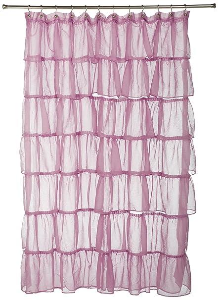 Amazon LORRAINE HOME FASHIONS Gypsy Shower Curtain 70 By 72