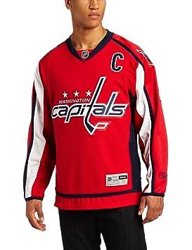 4df4f9ab NHL Washington Capitals #8 Alex Ovechkin Reebok Edge Premier Player Jersey  (Red, Small), Jerseys - Amazon Canada