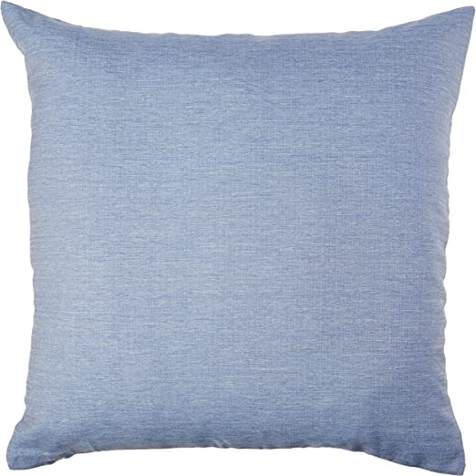 NEW Set of 4 Deconovo Polyester Blue Jean Color Throw Pillow Case Cover 18x18