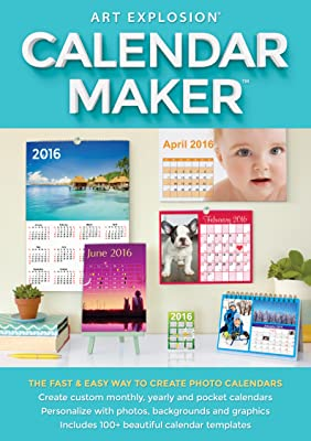 Art Explosion Calendar Maker [Download]