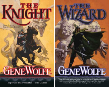 The Wizard Knight (2 Book Series) by Gene Wolfe