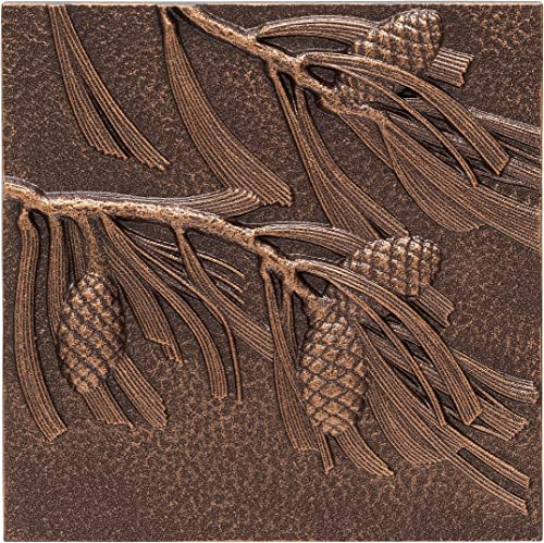 Whitehall Products Pinecone Wall Decor, Antique Copper
