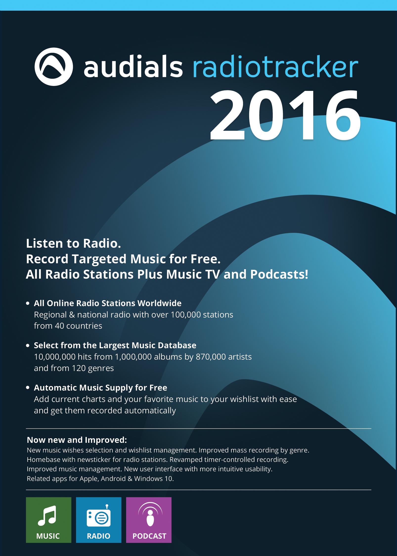 Audials Radiotracker 2016 [Download] (Best Id3 Tag Editor)