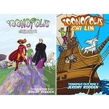 Toonopolis Files (2 Book Series)