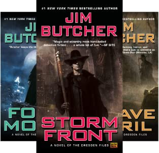 The Dresden Files Series Kindle Edition