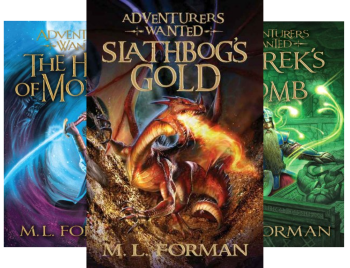 Adventurers Wanted (Book Series) by M.L. Forman, M. L. Forman
