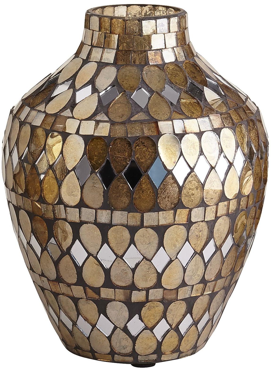 Golden Mosaic Vases | Pier 1 Imports