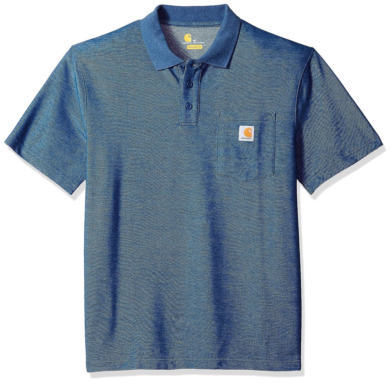 Carhartt Men's Contractors Work Pocket Polo Original Fit K570 Carhartt Sportswear - Mens