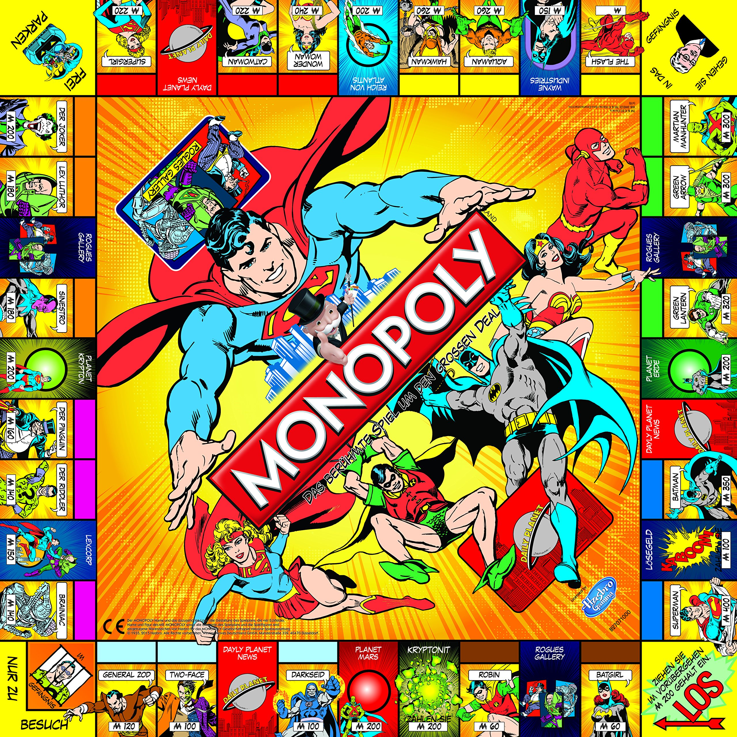 Monopoly DC Universe wersja angielska: Amazon.es: Libros en idiomas extranjeros