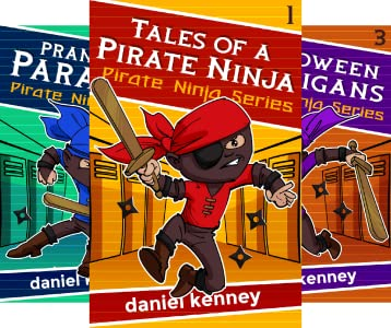 Pirate Ninja (4 book series) Kindle Edition