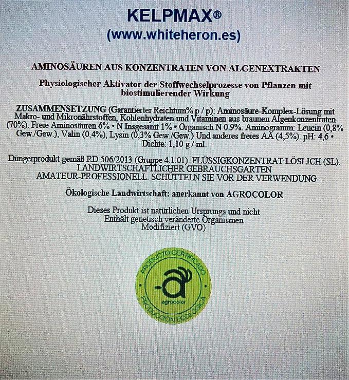 BIGROOT®+ KELPMAX® (5.000 m2)-Vitaminas/Multinutrientes/Algas ...