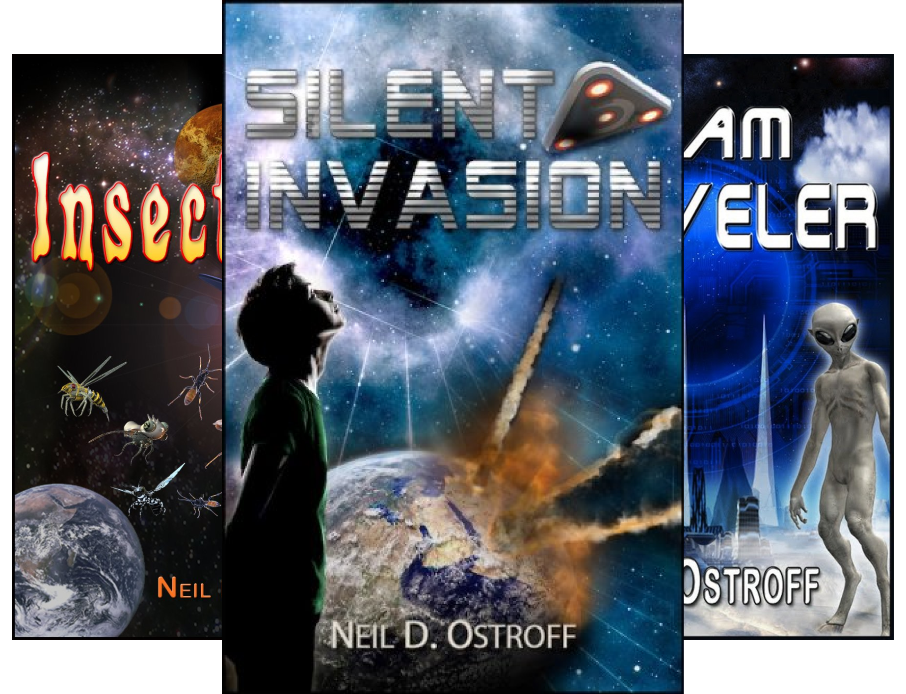 The Galactic Warrior Series (3 Book Series)