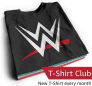 WWE T-Shirt Club Subscription – Men – Medium