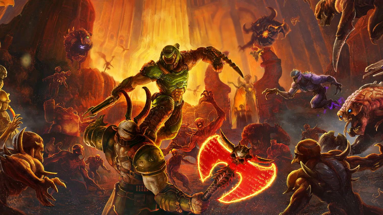 Amazon com: Doom Eternal - Nintendo Switch Standard Edition