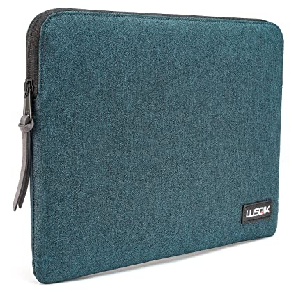 best service ea73f 07e03 LUSQIK Laptop Sleeve Compatible with MacBook Pro Retina 13 Inch 2016 2017  2018 2019 A1989 / A1706 / A170, Waterproof Case Bag Fit to Mac Air 2018 ...