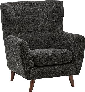 Sensational Amazon Com Rivet Cove Modern Tufted Accent Chair With Machost Co Dining Chair Design Ideas Machostcouk