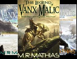 The Legend of Vanx Malic (10 Book Series) by  M. R. Mathias