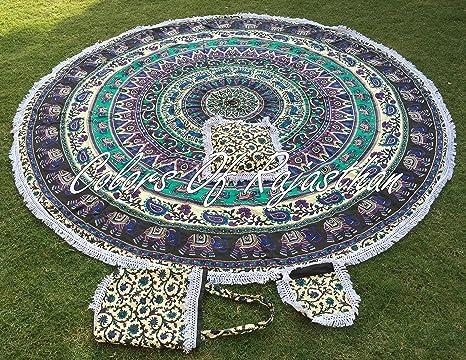 Amazon.com: Cor de la Ronda Mandala Tapestry Hippie Ronda ...