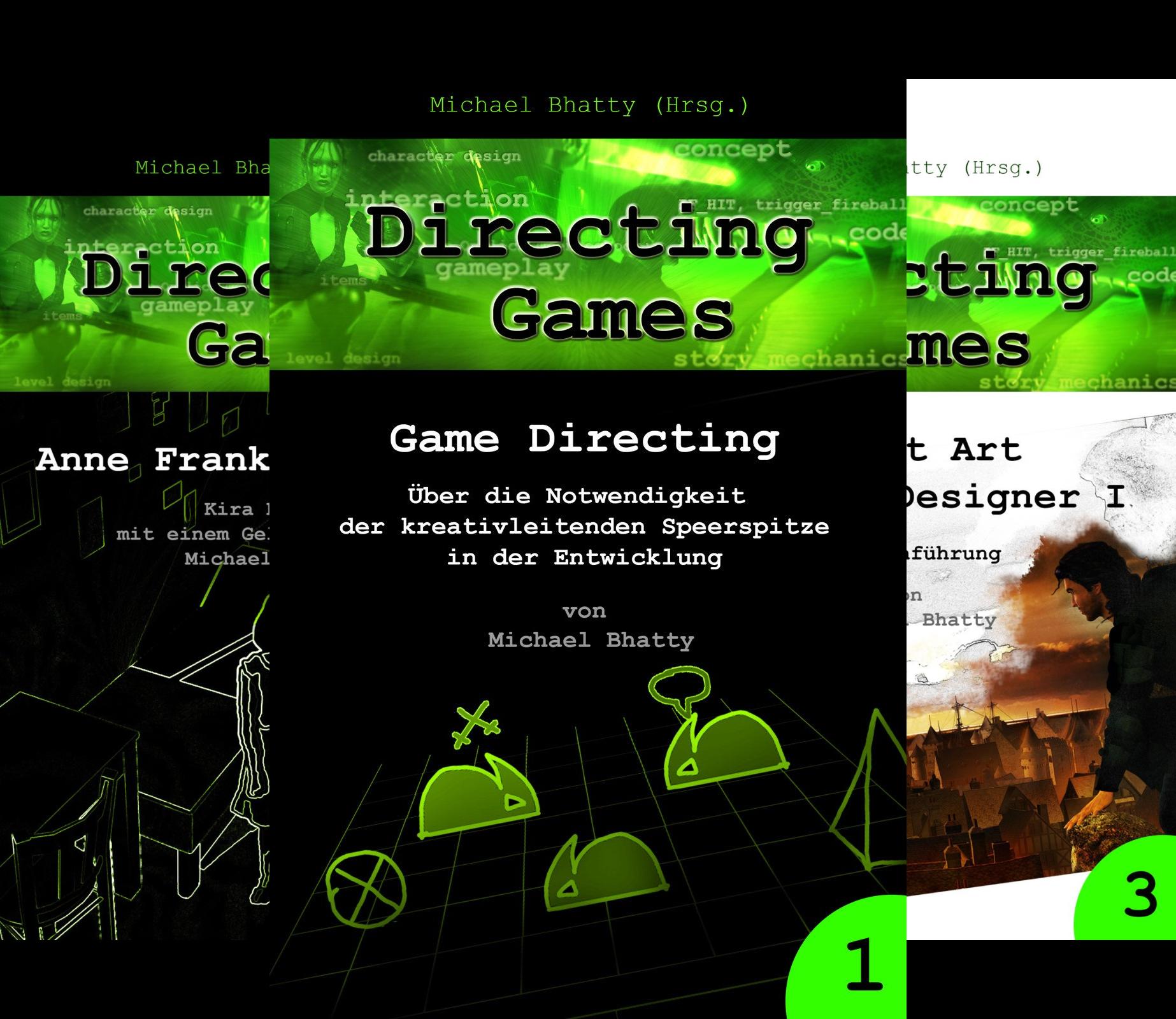 Directing Games (Reihe in 4 Bänden)