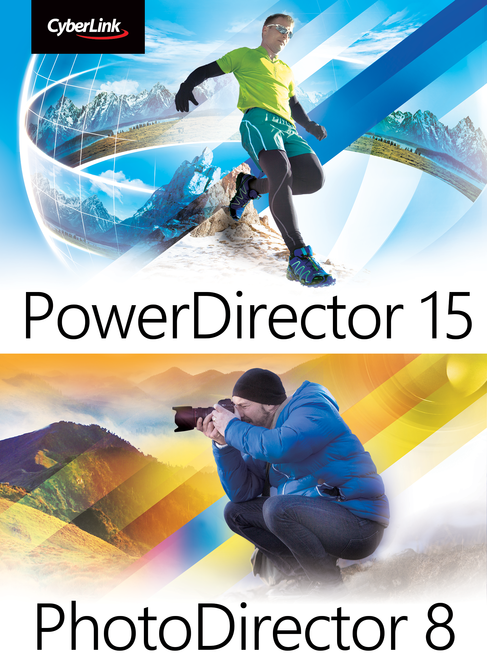 CyberLink PowerDirector 15 Ultra and PhotoDirector 8 Ultra bundle [Download]