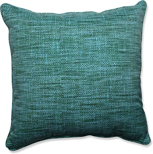 Pillow Perfect Outdoor Indoor Remi Lagoon Floor Pillow, 25 x 25 , Blue