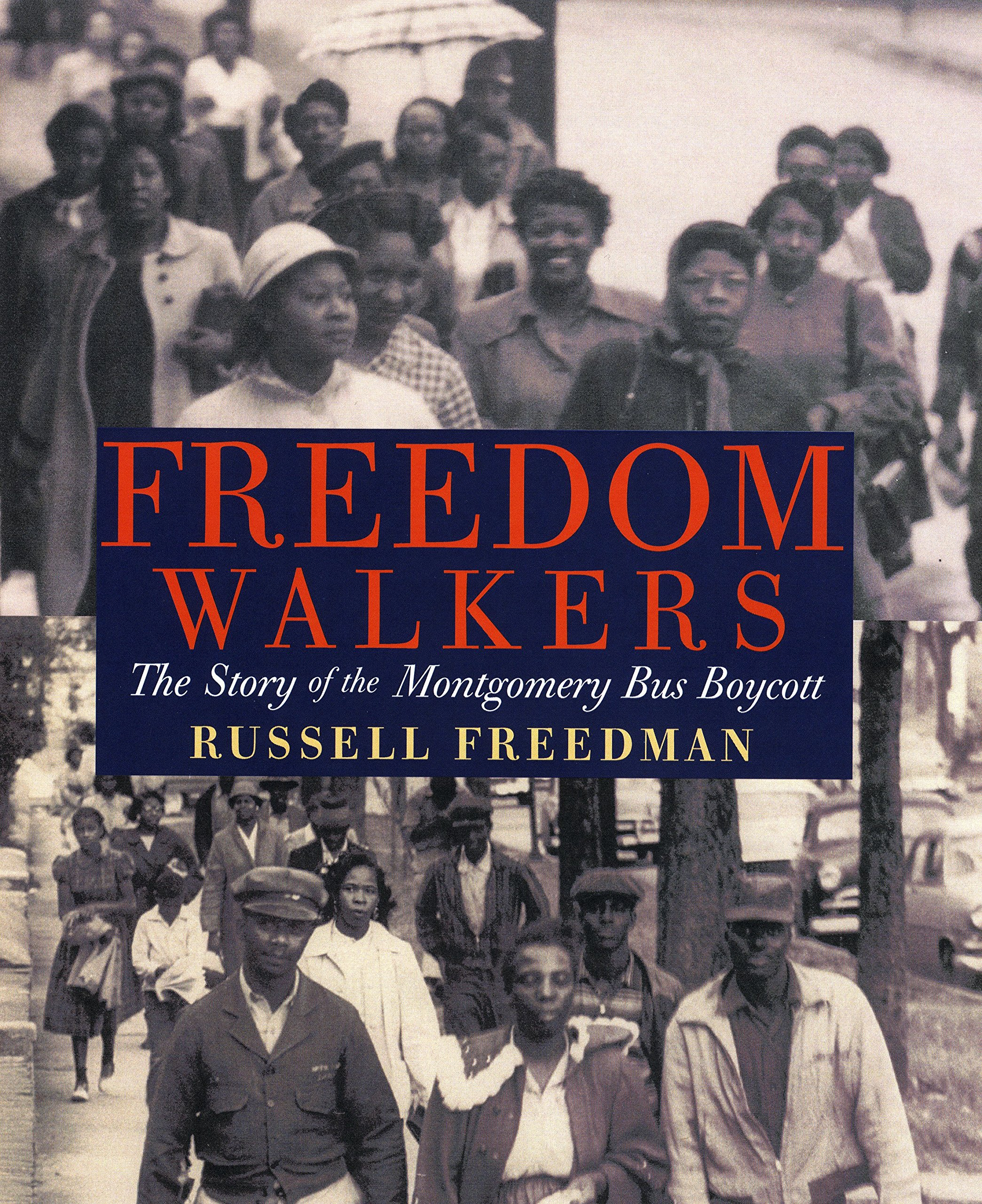 Freedom Walkers: The Story of the Montgomery Bus Boycott Grades 6-8 by Holiday House (Image #1)