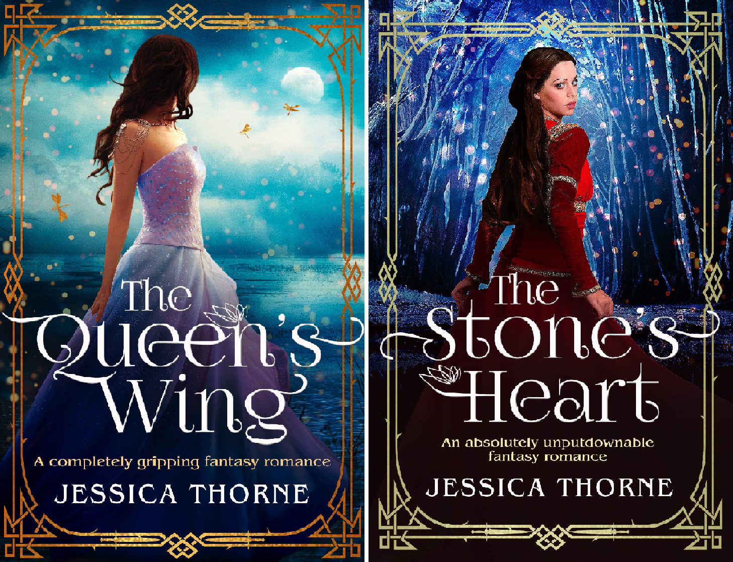 The Queen's Wing Series (2 Book Series)