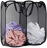 Mesh Popup Laundry Hamper - Portable, Durable