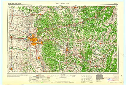 amazon com yellowmaps oklahoma city ok topo map 1 250000 scale 1 x 2 degree historical 1963 22 6 x 33 3 in paper sports outdoors yellowmaps oklahoma city ok topo map 1 250000 scale 1 x 2 degree historical 1963 22 6 x 33 3 in