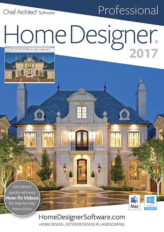 Amazon.com: Home Designer Professional 2017 [PC] [Download]: Software
