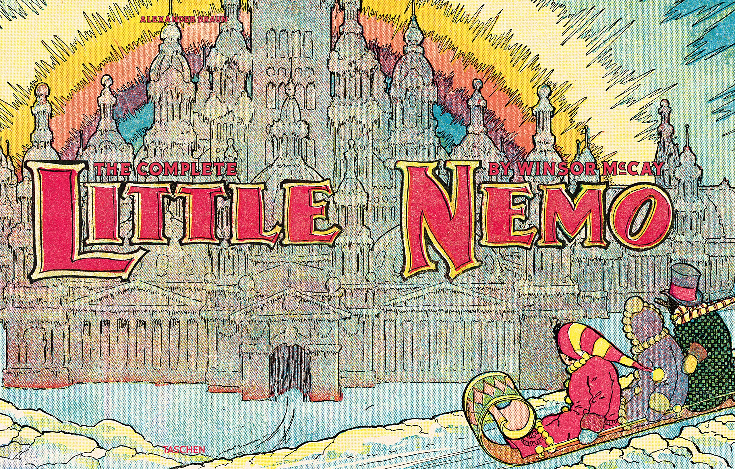 Galleon Winsor Mckay The Complete Little Nemo 2 Volumes Xl
