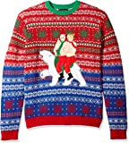 Blizzard Bay Men's Ugly Christmas Sweater Trump