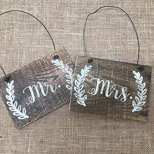 amazon com customizable mr mrs reclaimed wood pallet sign