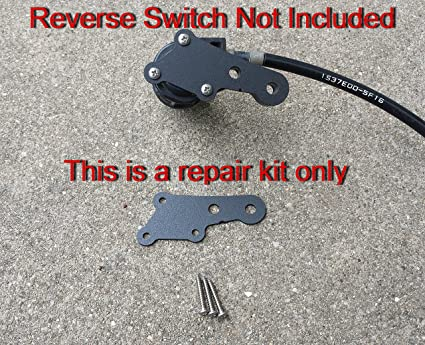 SpeedFreakCNC Yamaha Raptor 660/700 700R Compatible Reverse Switch Repair  Plate/Kit