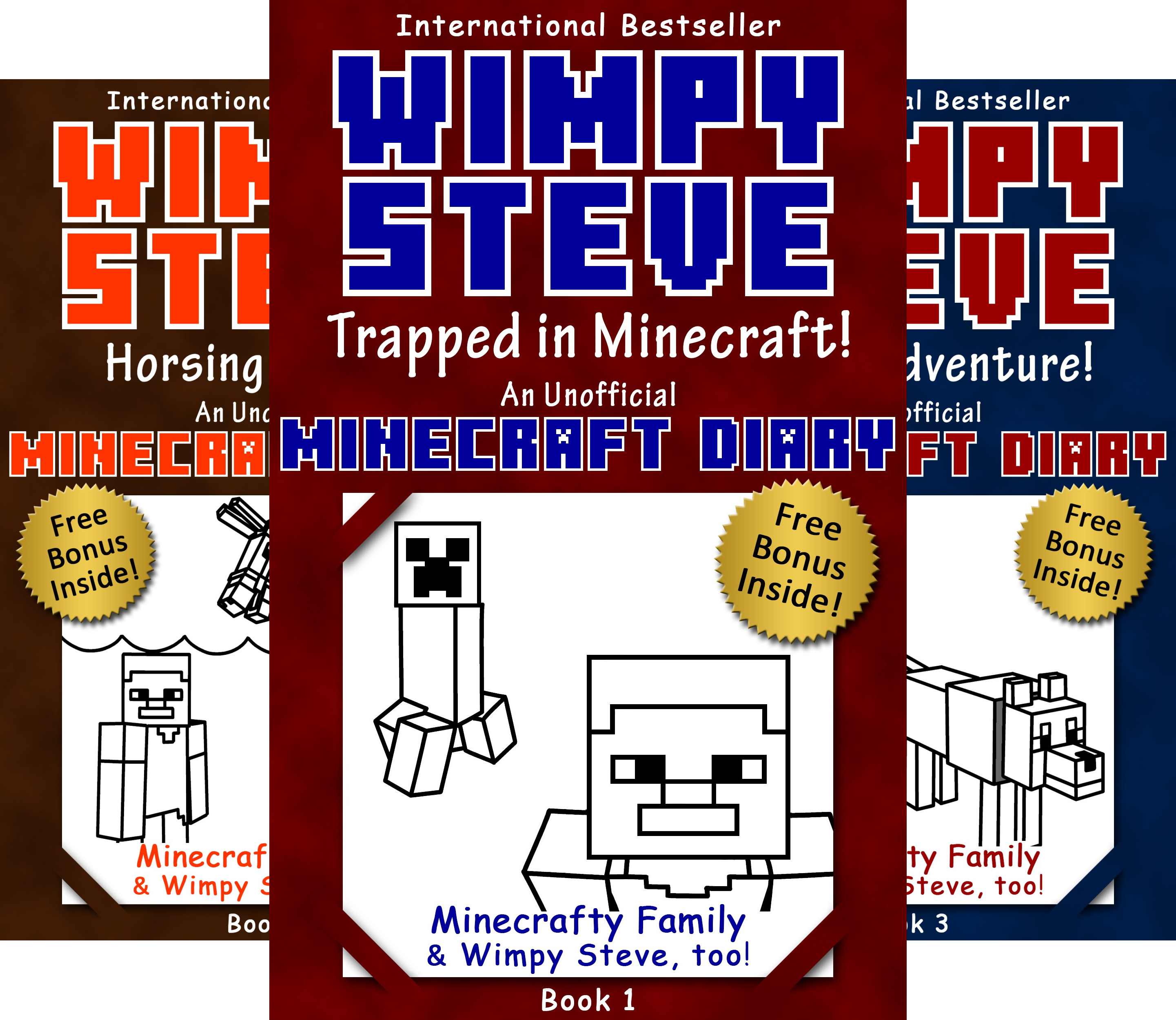 Minecraft Diary- Wimpy Steve (10 Book Series)