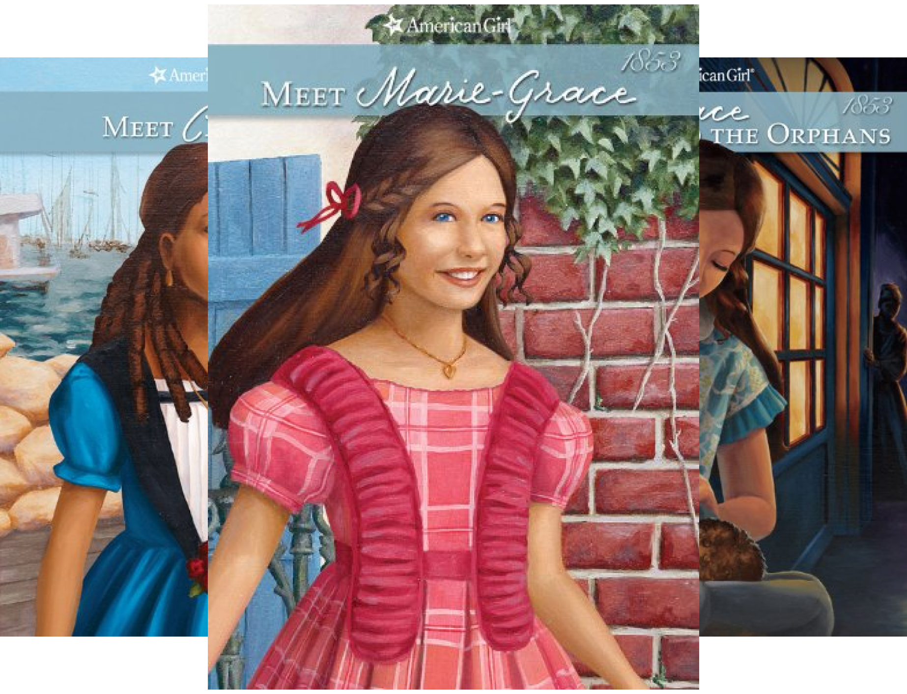American Girls Collection: Marie-Grace and Cécile (6 Book Series)