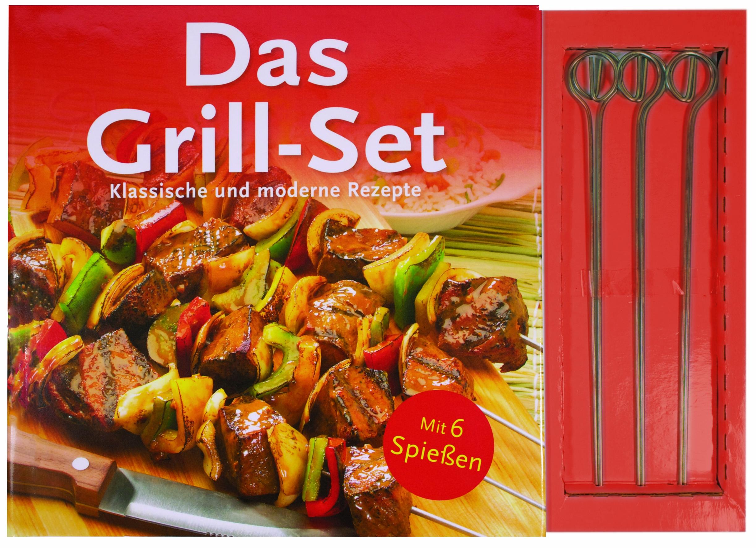 Das Grill-Set: Klassische und moderne Rezepte
