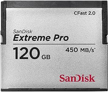 Tarjeta de Memoria Sandisk Extreme Pro CFast (SD/USB 2,0-120 ...