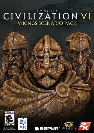 Sid Meier's Civilization VI - Vikings Scenario Pack (Mac) [Online Game Code]: Amazon.es: Videojuegos