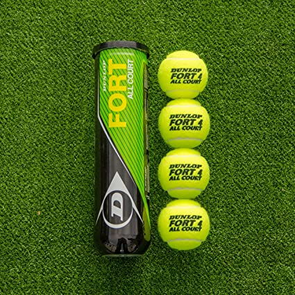 Amazon Com Net World Sports Dunlop Fort All Court Tennis Balls Bulk Buy Tennis Balls Professional Tennis Balls Itf Approved Dunlop Hd Core Technology Excellent Longevity 18 Cans 72 Balls Sports Outdoors