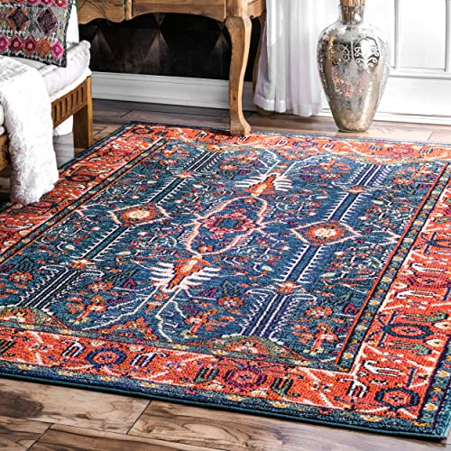 nuLOOM Wonder Vibrant Persian Area Rug, 8 10 x 12 , Multi